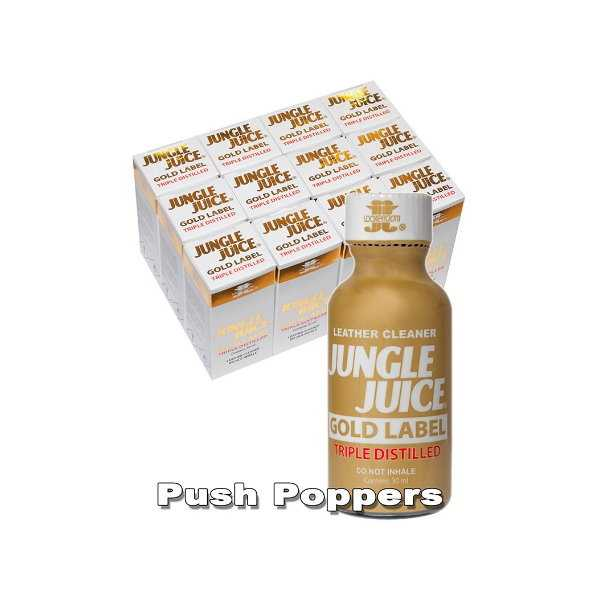 Jungle Juice Gold Label Poppers