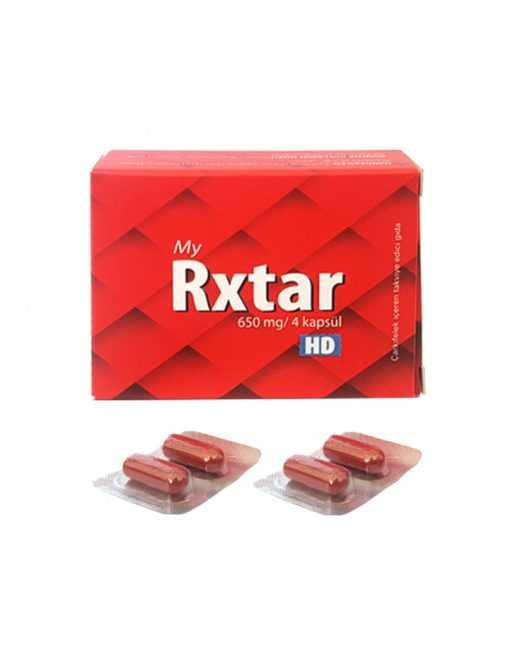 Rxtar Bitkisel Kapsül (Avantaj - 4lü Paket)